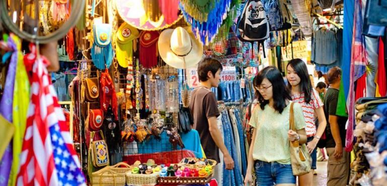 5 Tempat Wisata Belanja Murah di Bangkok