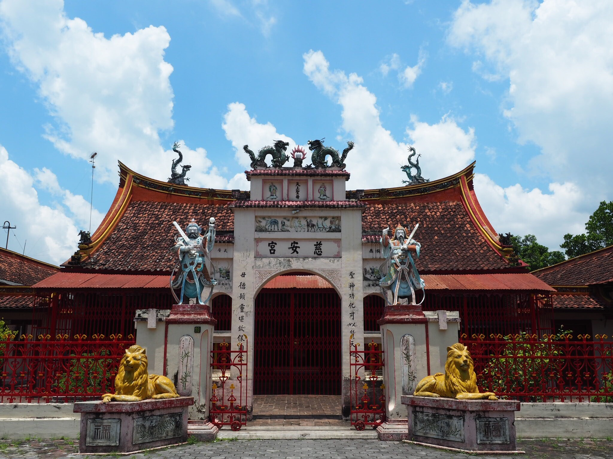 Cu An Kiong temple in Lasem