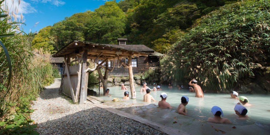 Onsen Nyuto Jepang Outdoor