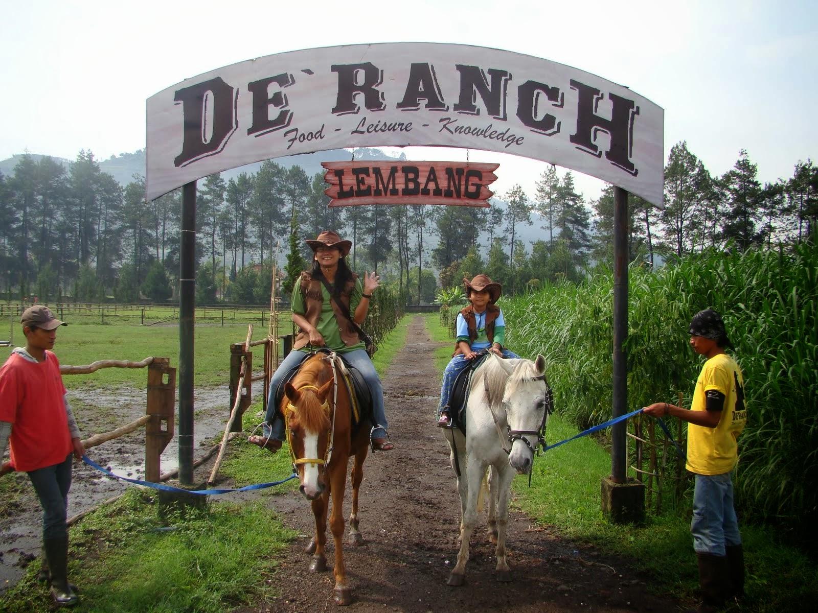 Wisata De Ranch Lembang