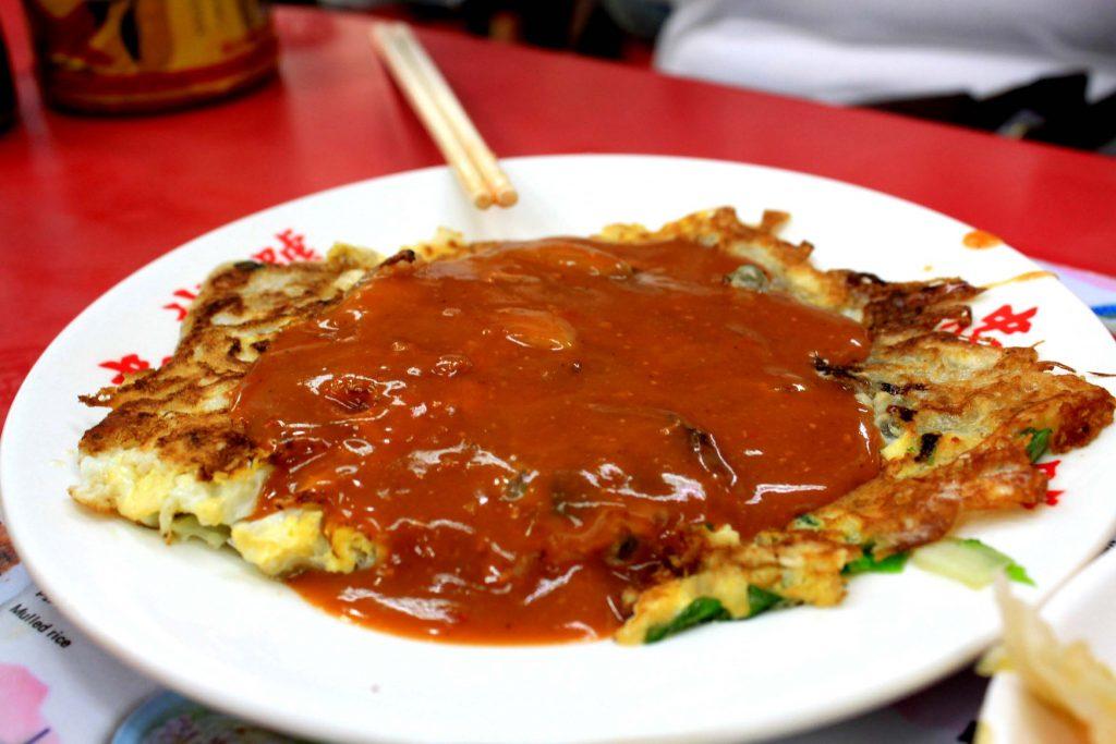 Omelet tiram