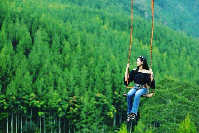 lodge maribaya sky swing