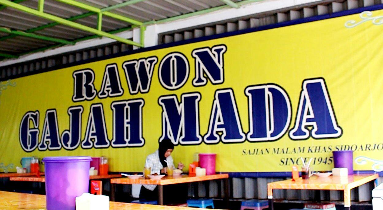 wisata kuliner Gajah Mada Rawon