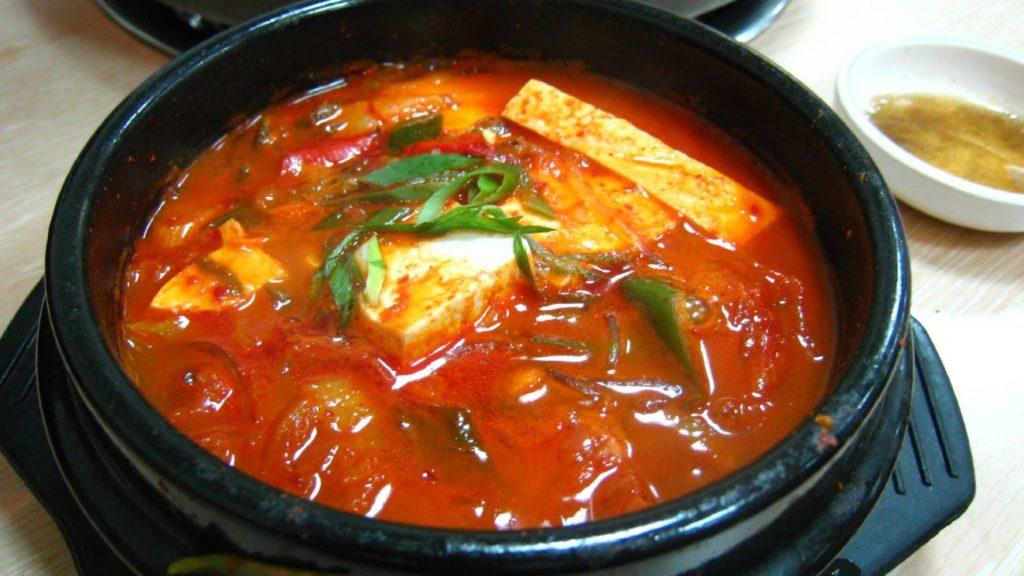 Jjigae Soup Di The Seafood Tower Pantai Indah Kapuk
