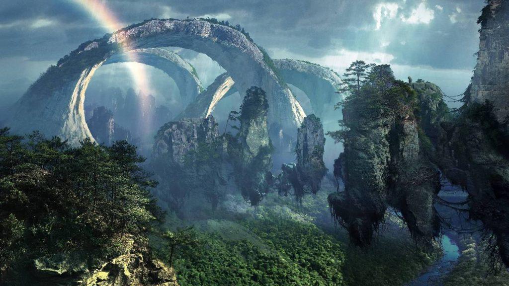 Avatar Mounain Di China