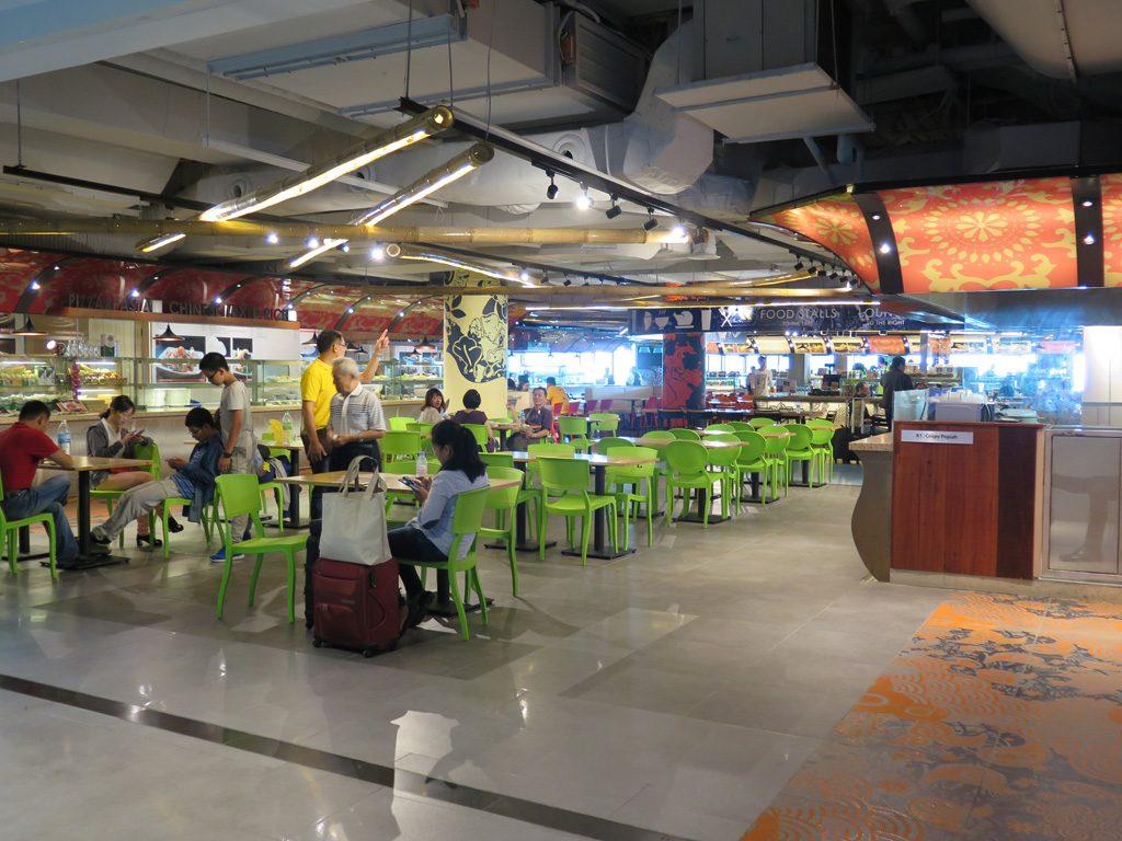 Foodcourt KLIA 2
