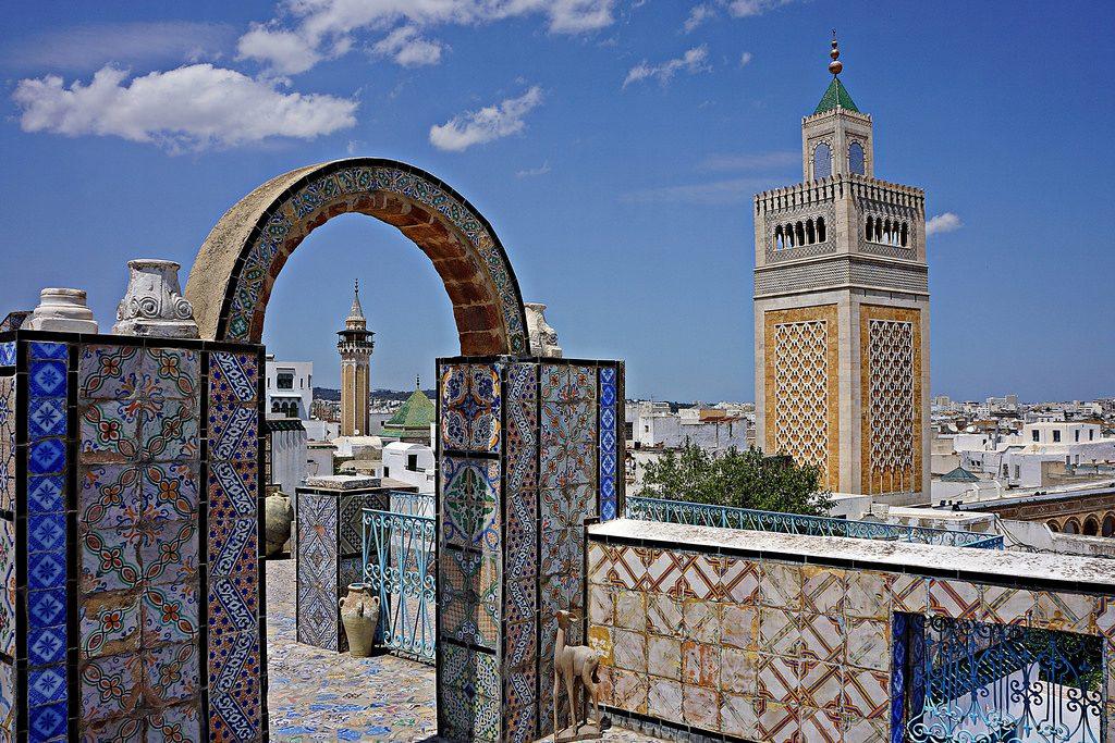 Kota Tunisia Yang super instagramable