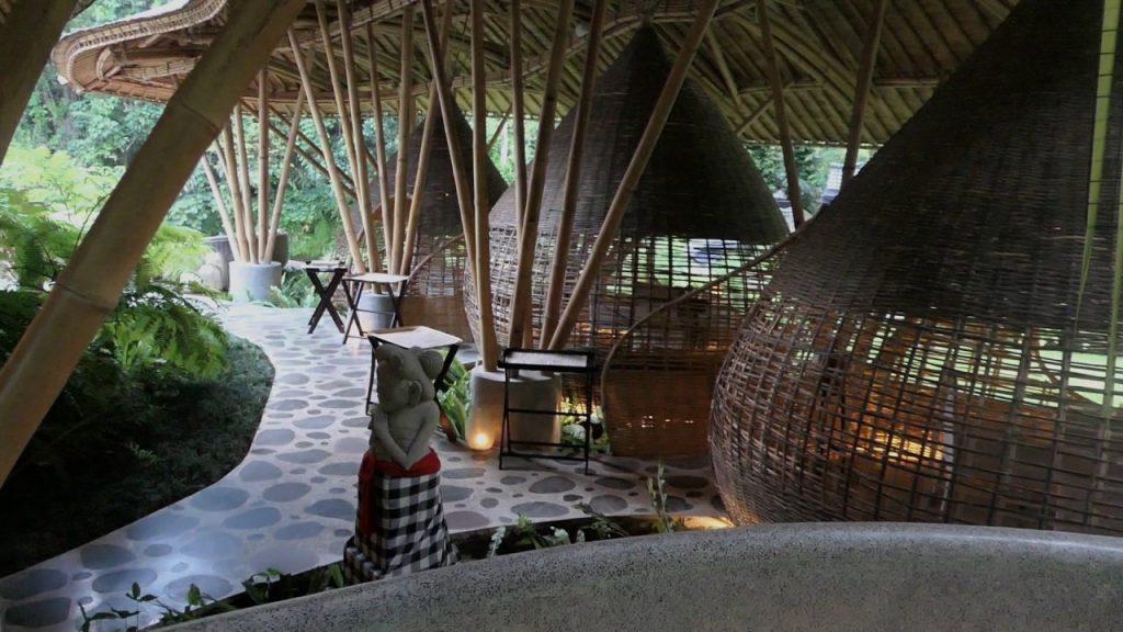 Kubu at Mandapa Bali