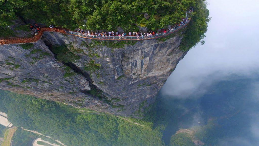Tianmen Mountain Glasswalk