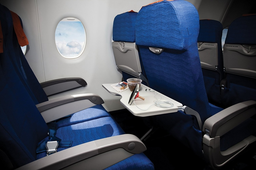Melipat Meja Makan Di Pesawat