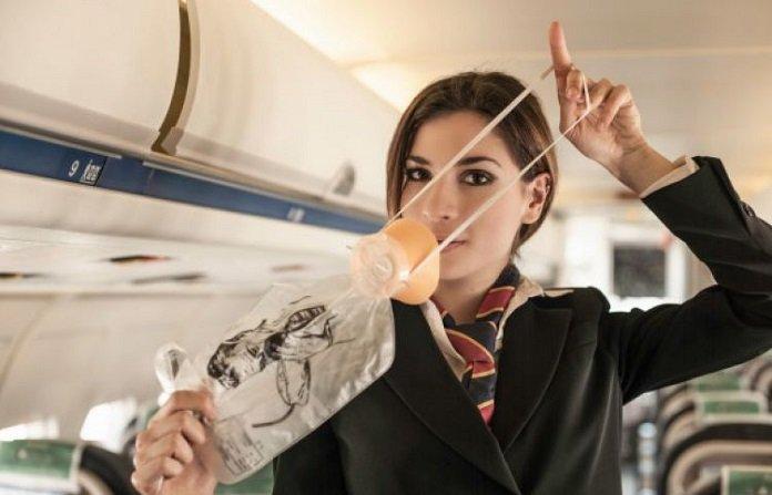 demo keselamatan di pesawat