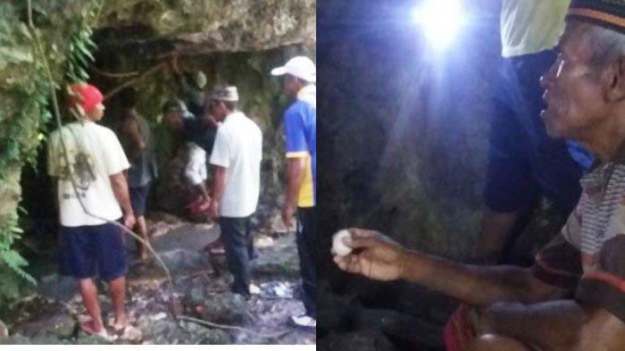 istana ular di manggarai barat serta ritual sebelum masuk gua