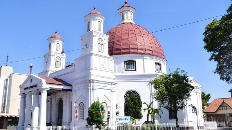 Destinasi Wisata Semarang Gereja Blenduk