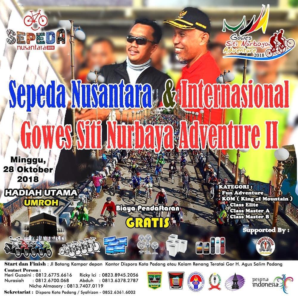 Gowes Siti Nurbaya 2018