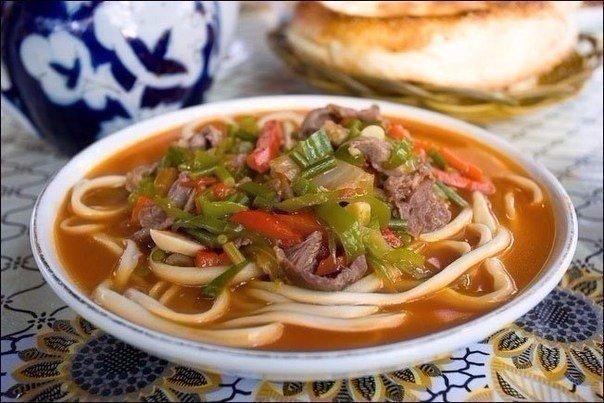 LAGMAN SOUP Uzbekistan Food