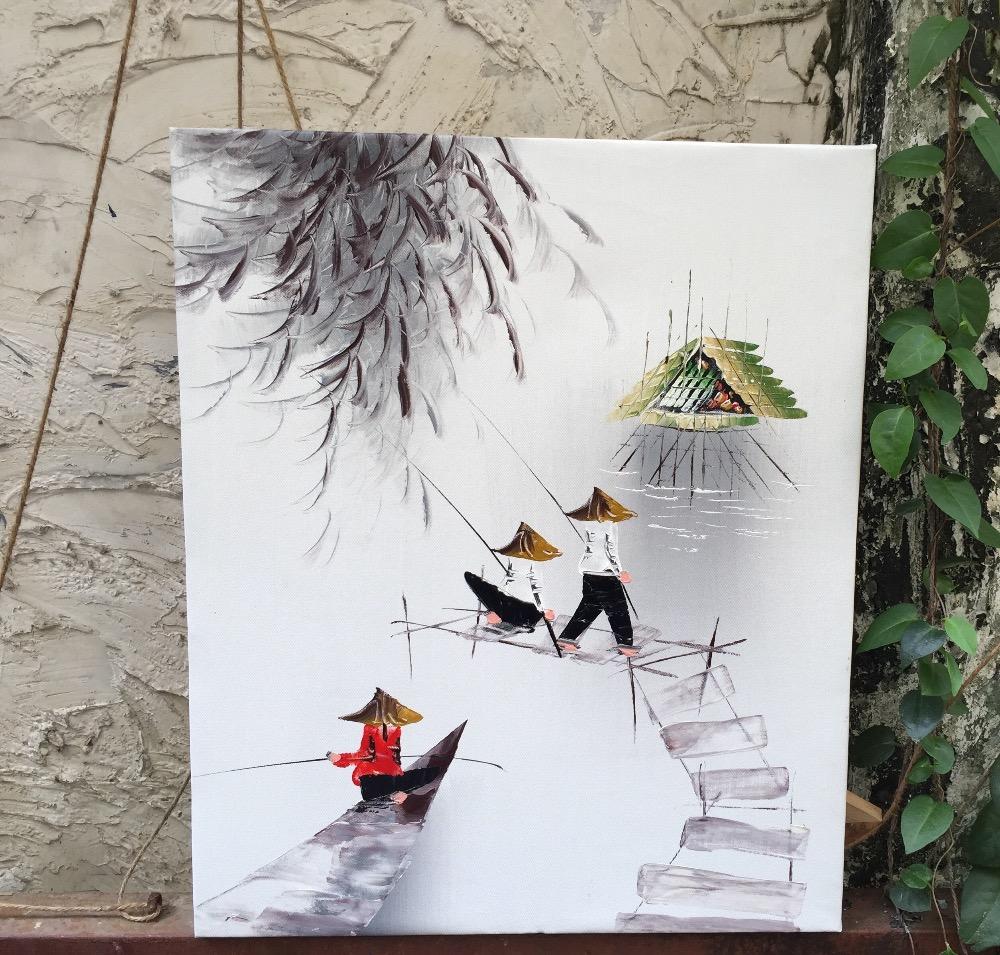 Lukisan Khas Oleh Oleh Dari Vietnam