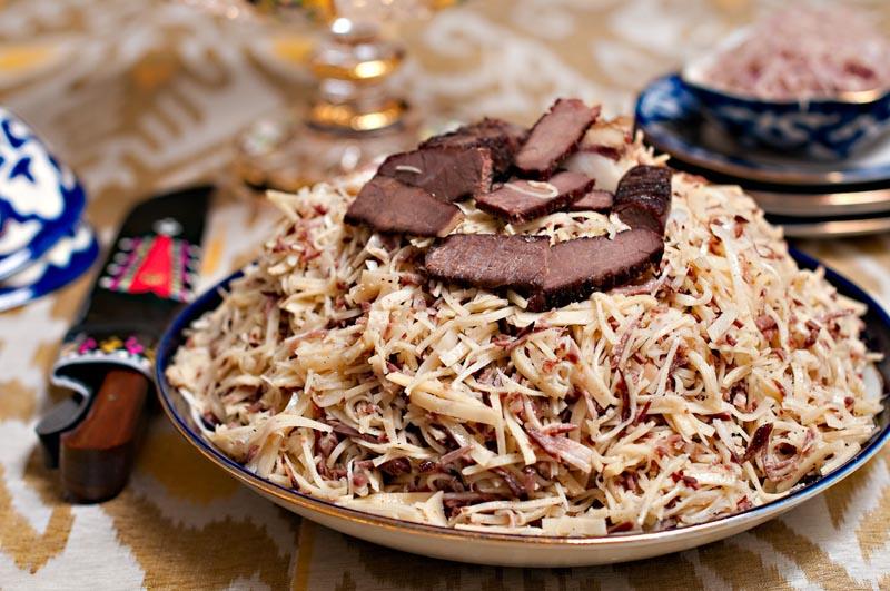 NARYN Uzbekistan Food
