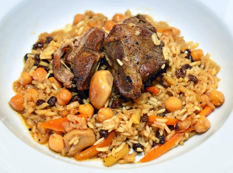 RICE PLOV Uzbekistan Food