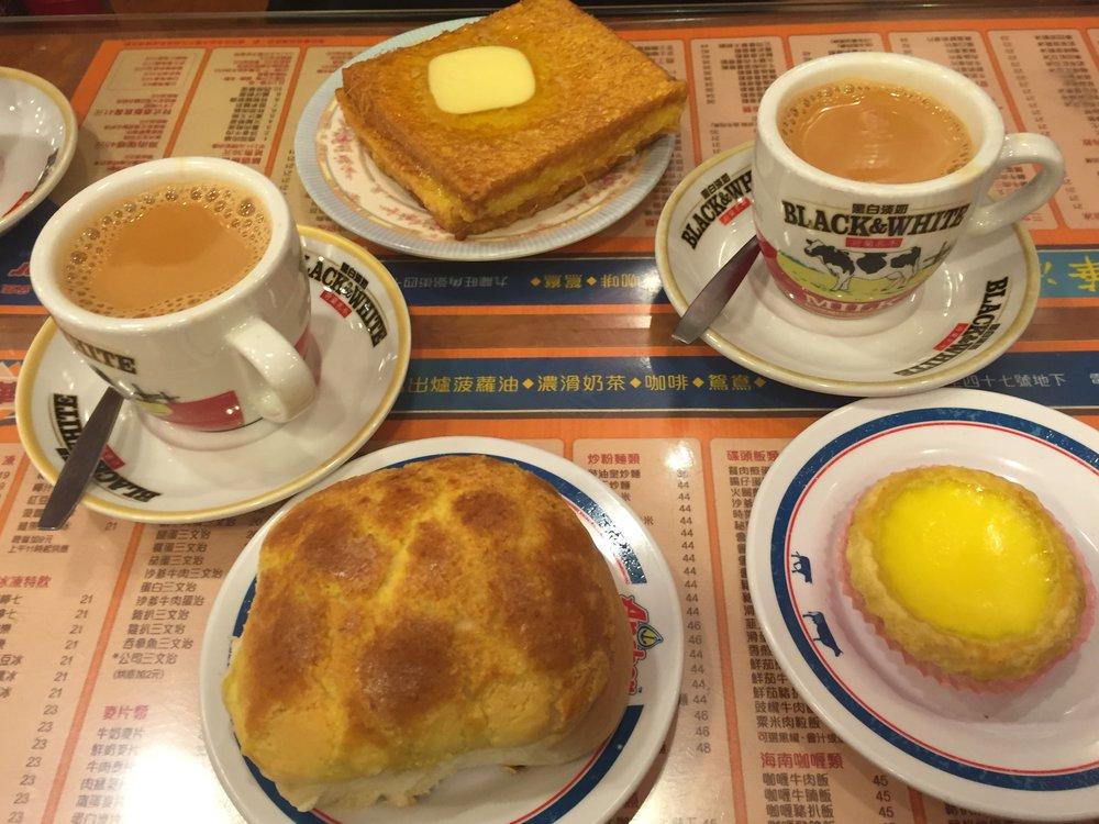 Wisata Kuliner Hongkong Roti Nanas