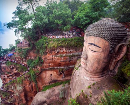 Buddha Leshan Giant