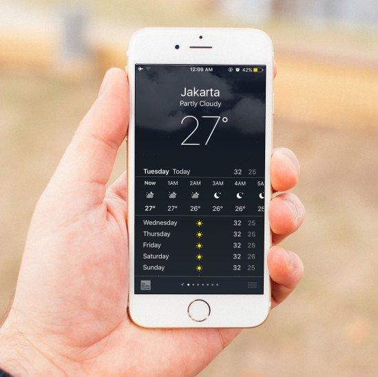 Cara Prediksi Cuaca Di Smartphone