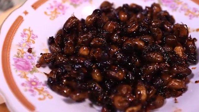 Puthul, Kuliner Ekstrem Gunung Kidul Berbahan Serangga