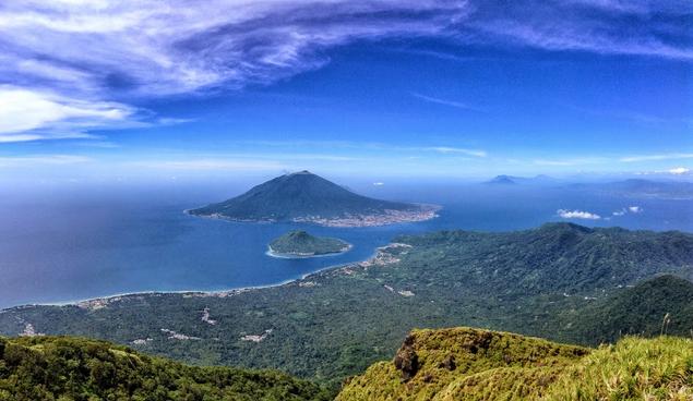Mendaki Puncak Kie Matubu - Wisata Kota Tidore