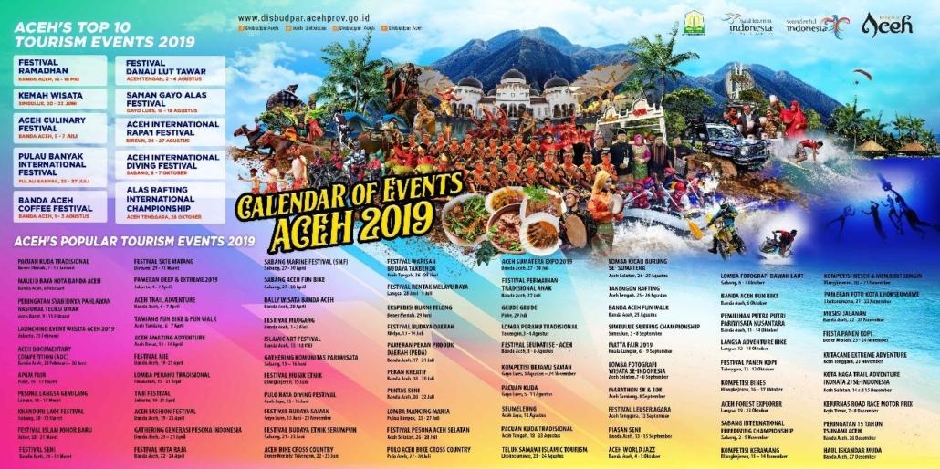 Kalender Event Aceh 2019
