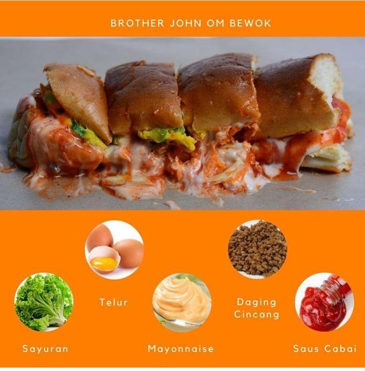 7 Roti John Terenak Dengan Porsi Besar Di Wisata Kuliner